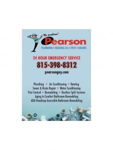 Pearson - Plumbing • Heating / A.C • Pest • Drains